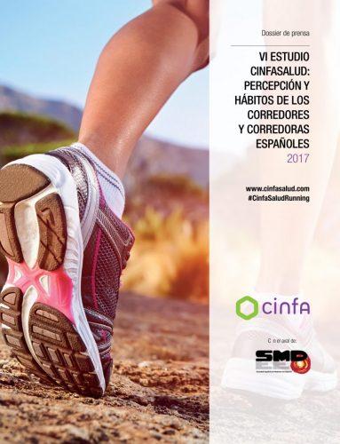 Portada VI ESTUDIO CINFASALUD: PERCEPCIÓN Y HÁBITOS DE LOS CORREDORES Y CORREDORAS ESPAÑOLES 2017